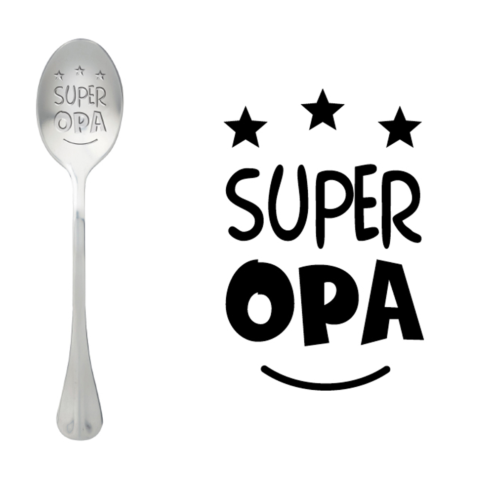 Löffel One Massage, Super Opa