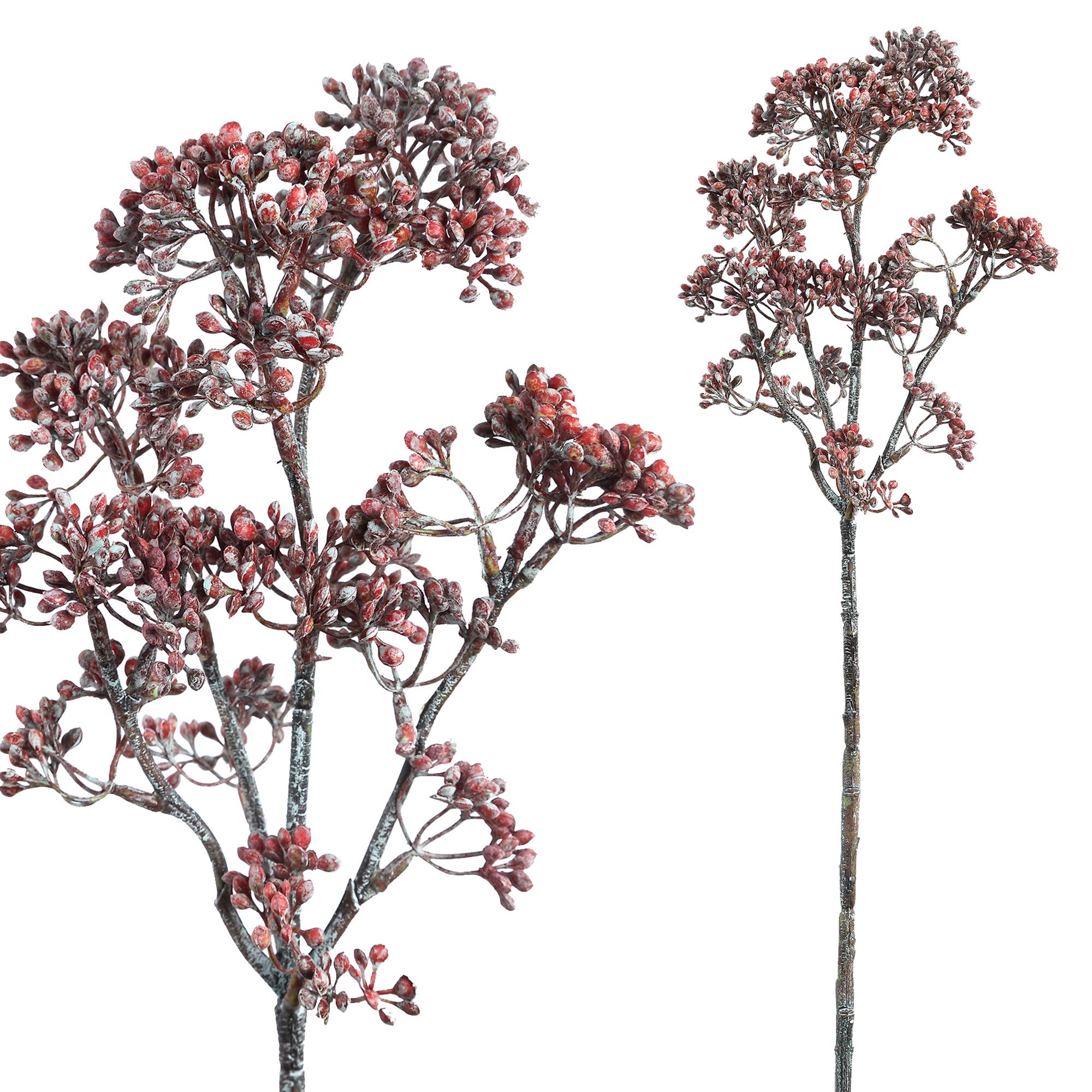 Kunstblumenzweig Beere