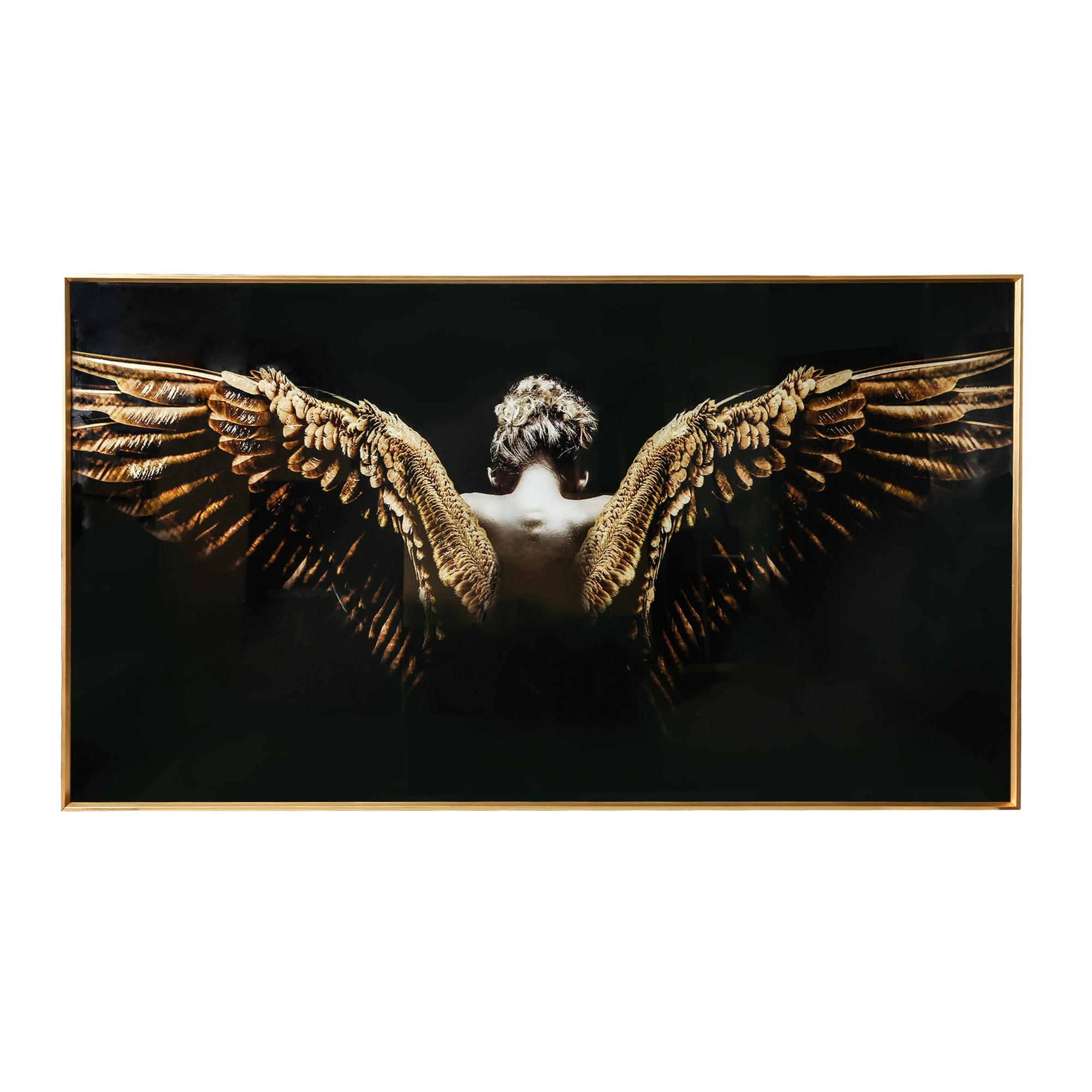 Wandbild Glass Melani Angel