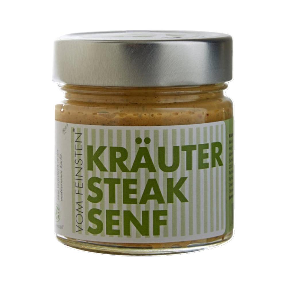 Senf - Kräuter Steak