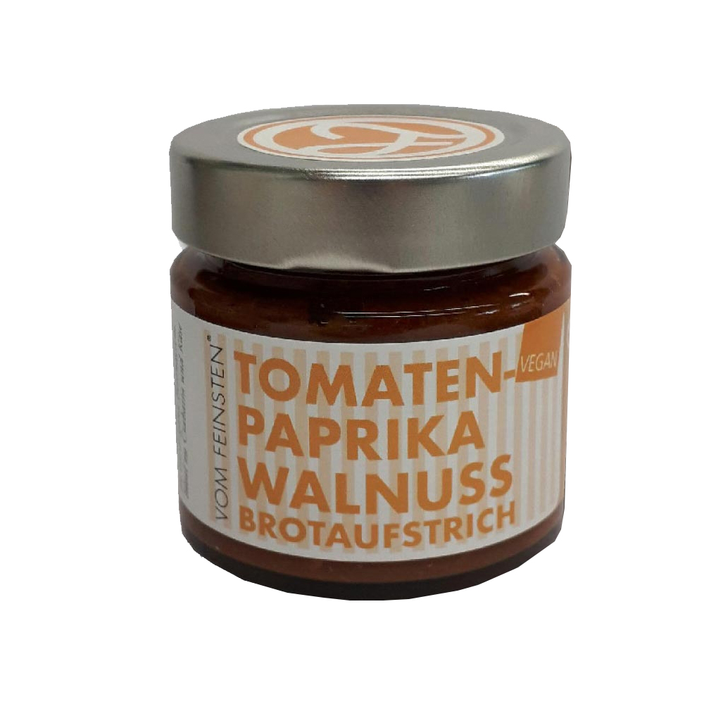Brotaufstrich Paprika Walnuss