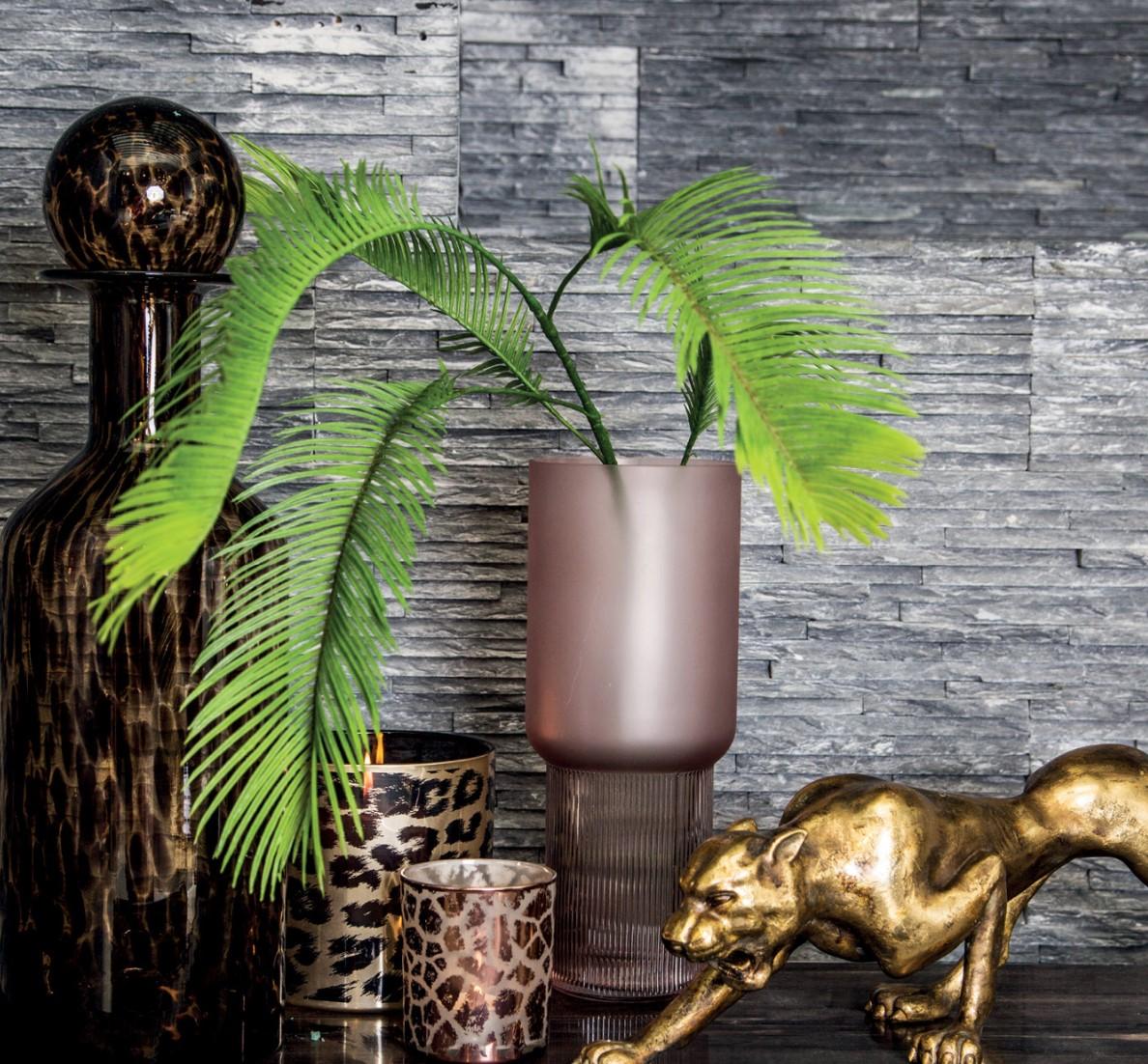 Vase Kandis in pink, Größe M