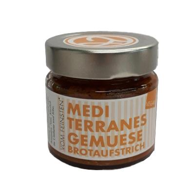 Brotaufstrich mediterranes Gemüse