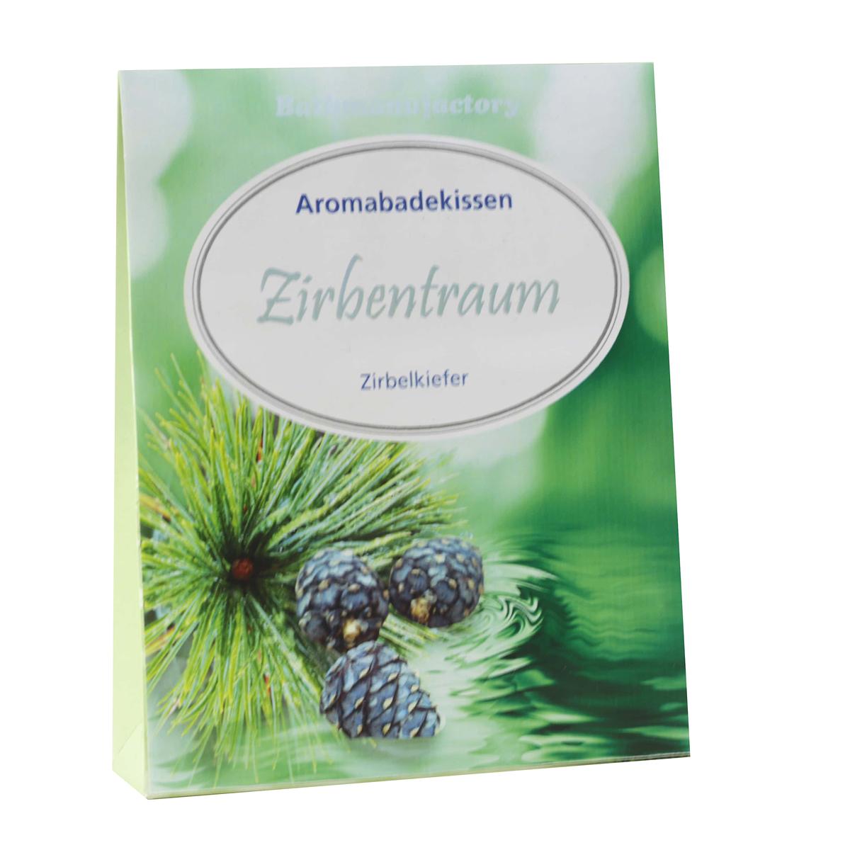 Aromabadekissen Zirbentraum
